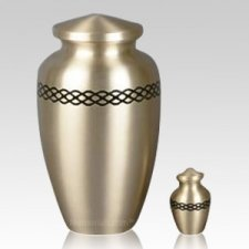 Realm Gold Cremation Urns