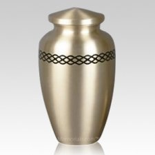 Realm Gold Cremation Urn