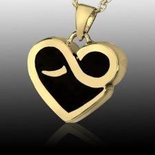 Endless Heart Cremation Pendant II