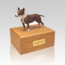 English Bull Terrier Large Dog Urn