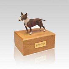 English Bull Terrier Small Dog Urn