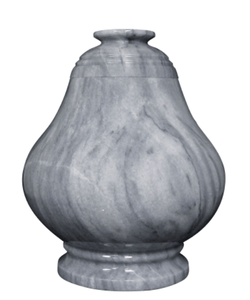 Equator Cashmere Gray Cremation Urn