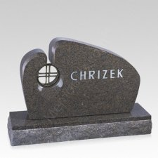 Essence Companion Granite Headstone