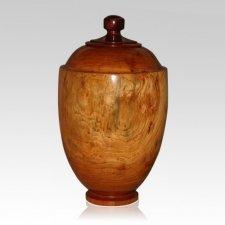 Estate Wood Cremation Urn