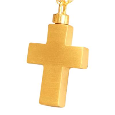 Eternal Cross Cremation Necklace II