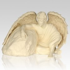Eternal Guardian Angel Cremation Urns