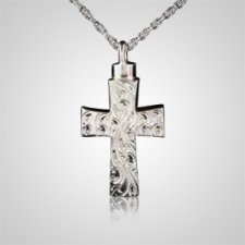Eternal Cross Keepsake Pendant