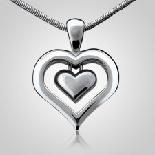 Eternal Heart Keepsake Pendant