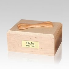 Eternal Bone Maple Wood Medium Dog Urn