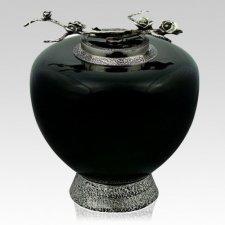 Eternal Rose Glass Cremation Urn