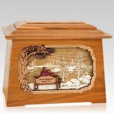 Eternally Mahogany Aristocrat Cremation Urn
