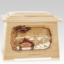 Eternally Maple Aristocrat Cremation Urn