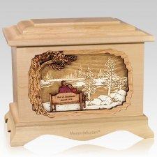 Eternally Maple Cremation Urn