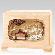 Eternally Maple Hampton Cremation Urn