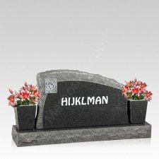 Eternidad Companion Granite Headstone