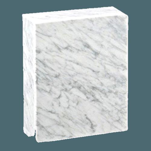Eternitas Bianco Carrera Marble Cremation Urns