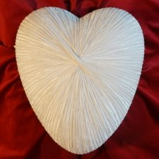 Ethereal Ceramic Heart Urn