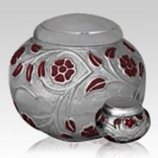 Ethereal Red Cremation Urns