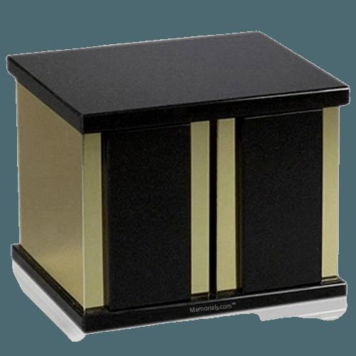 Ethinity Nero Granite Companion Urn