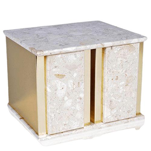 Ethinity Perlato Marble Companion Urn