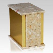 Ethinity Perlato Marble Cremation Urns
