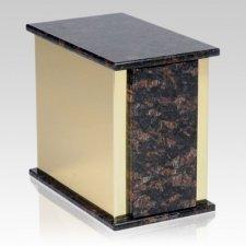Ethinity Tan Brown Granite Cremation Urn