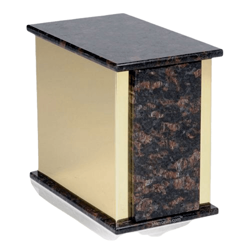 Ethinity Tan Brown Granite Cremation Urn