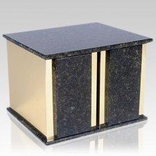Ethinity Verde Granite Companion Urn