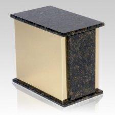Ethinity Verde Granite Cremation Urn