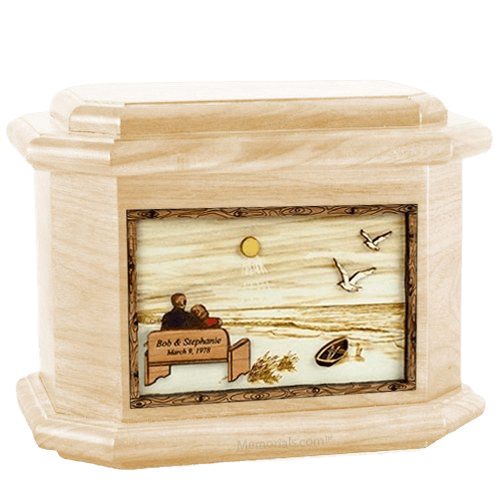 Evermore Maple Octagon Cremation Urn