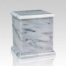 Eversquare White Keepsake Cremation Urn