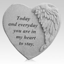 Everyday Angel Heart Stone
