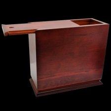 Exiguous Wood Cremation Urn