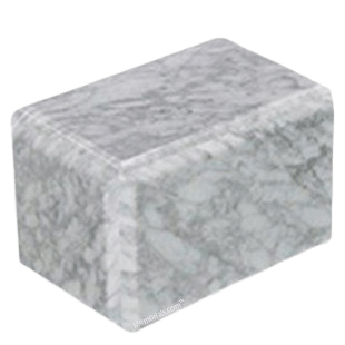 Expressions Bianco Marble Urn