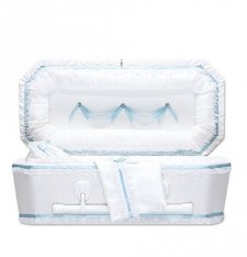 Exquisite Blue Child Caskets