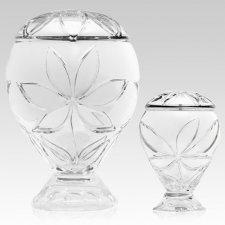 Exquisite Glass Cremation Urns