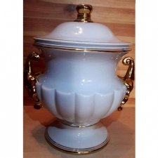 Exquisite Porcelain Cremation Urn