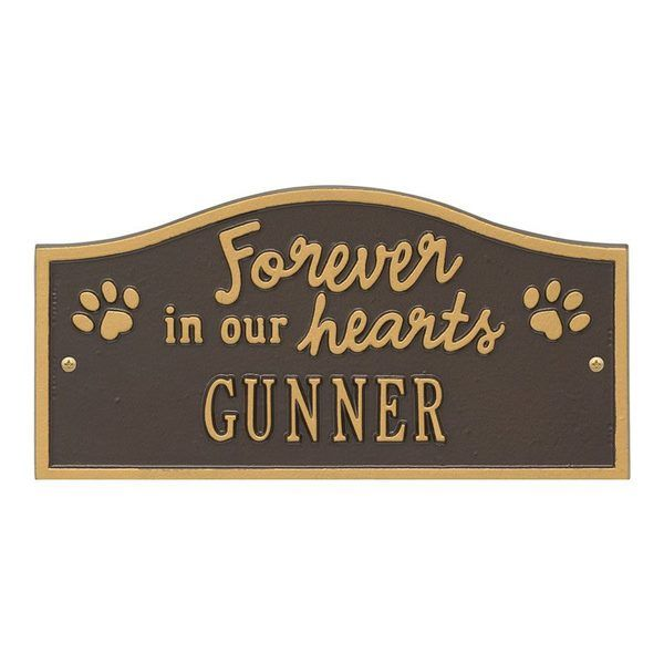 Forever In Our Hearts Pet Wall Plaques