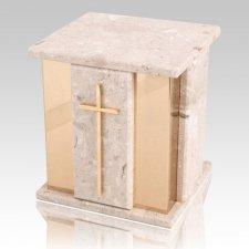 Foresta Perlato Marble Urn