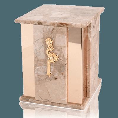 Foresta Brown Tone Marble Cremation Urns