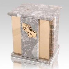 Foresta Grey Stone Marble Urn