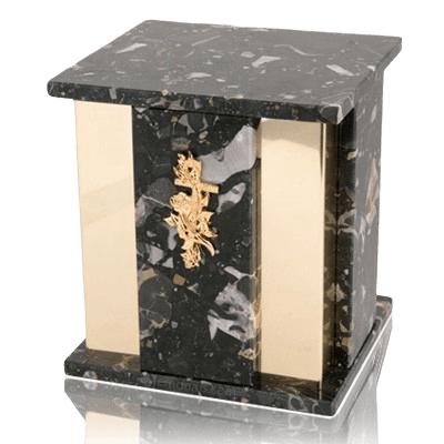 Foresta Cambrian Black Granite Cremation Urns