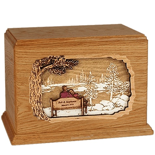 Forever Yours Mahogany Companion Urn