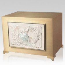 Fair Lady Bronze Cremation Urn