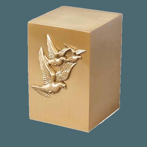 Faith Bronze Cremation Urn