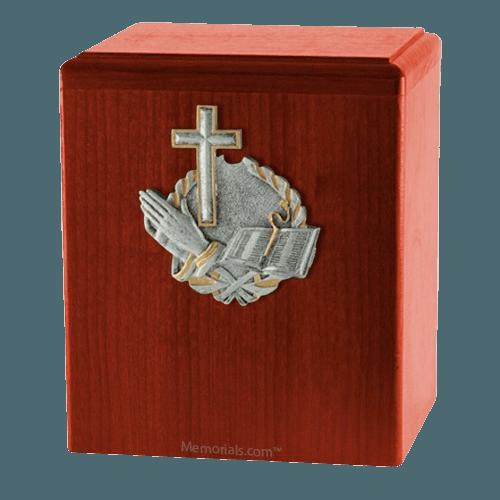 Faith Cherry Cremation Urn