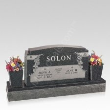 Faith Companion Granite Headstone