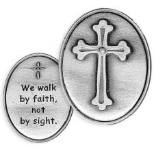 Faith Cross Comfort Tokens