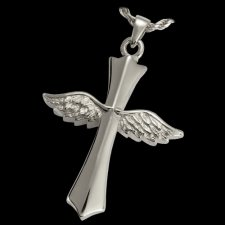 Faith Cross Cremation Pendant III