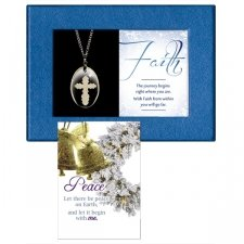 Faith Gift Boxed Pendant